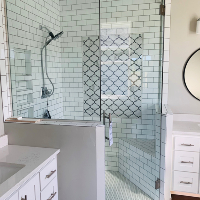 1768 Steiner Lane bathroom walk in glass shower