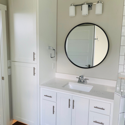 1768 Steiner Lane bathroom sink, vanity, and built in storage